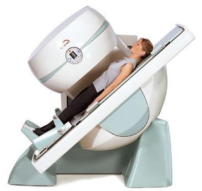 Standing MRI machine